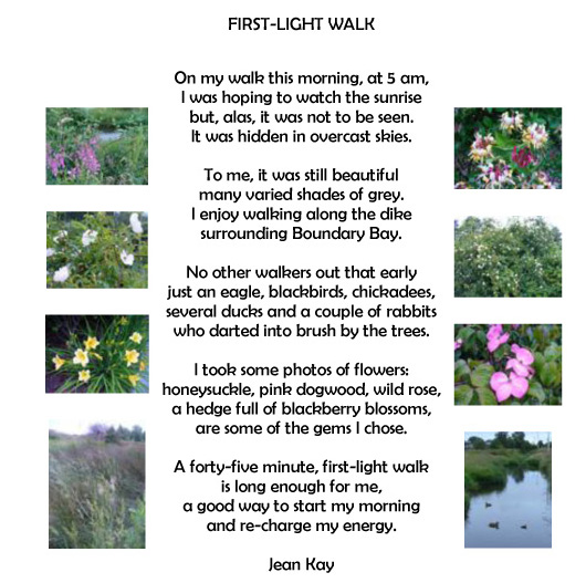 FIRSTLIGHT WALK