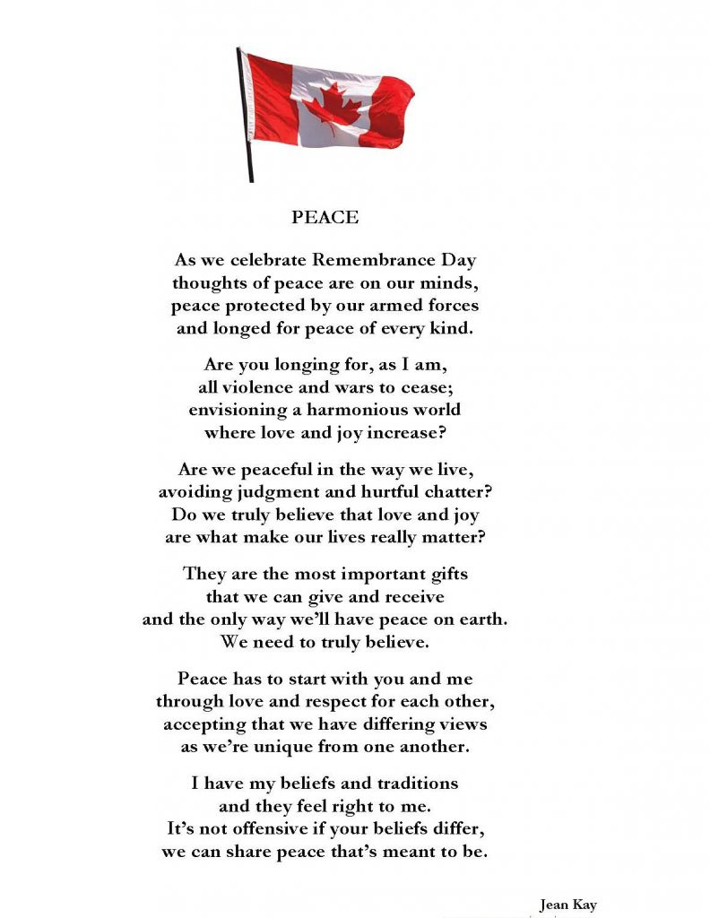 Remembrance Day – poetrytoinspire